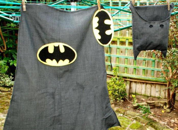 новогодний костюм бэтмена своими руками