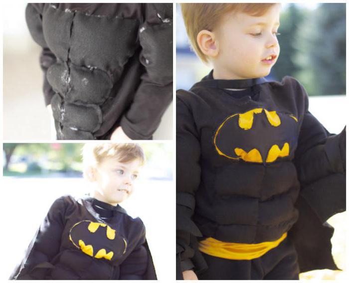 Костюм Бэтмена для детей: новогодний наряд 20