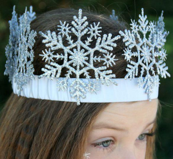 Корона своими руками для снежной королевы