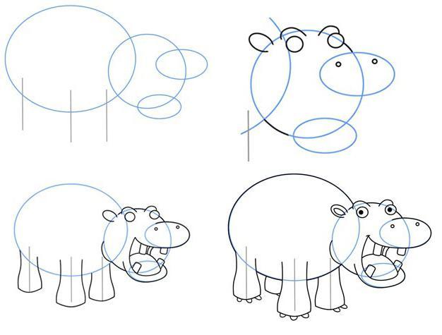 Как рисовать глорию