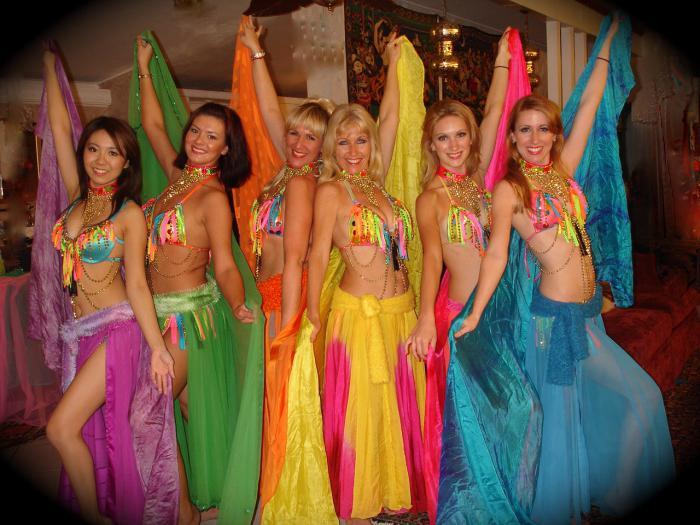 костюм восточной красавицы для девочки