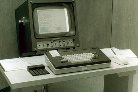 самая первая компьютерная мышь