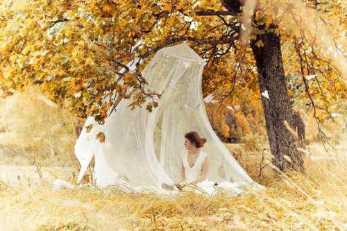 фотосессия осенью в лесу идеи
