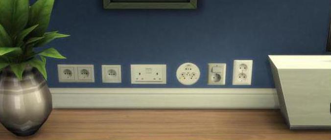 Расположение розеток и выключателей по евростандарту