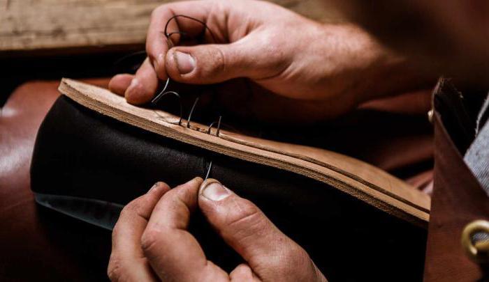 как прошить обувь крючком