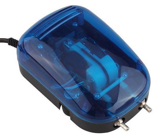 бесшумный компрессор для аквариума apump