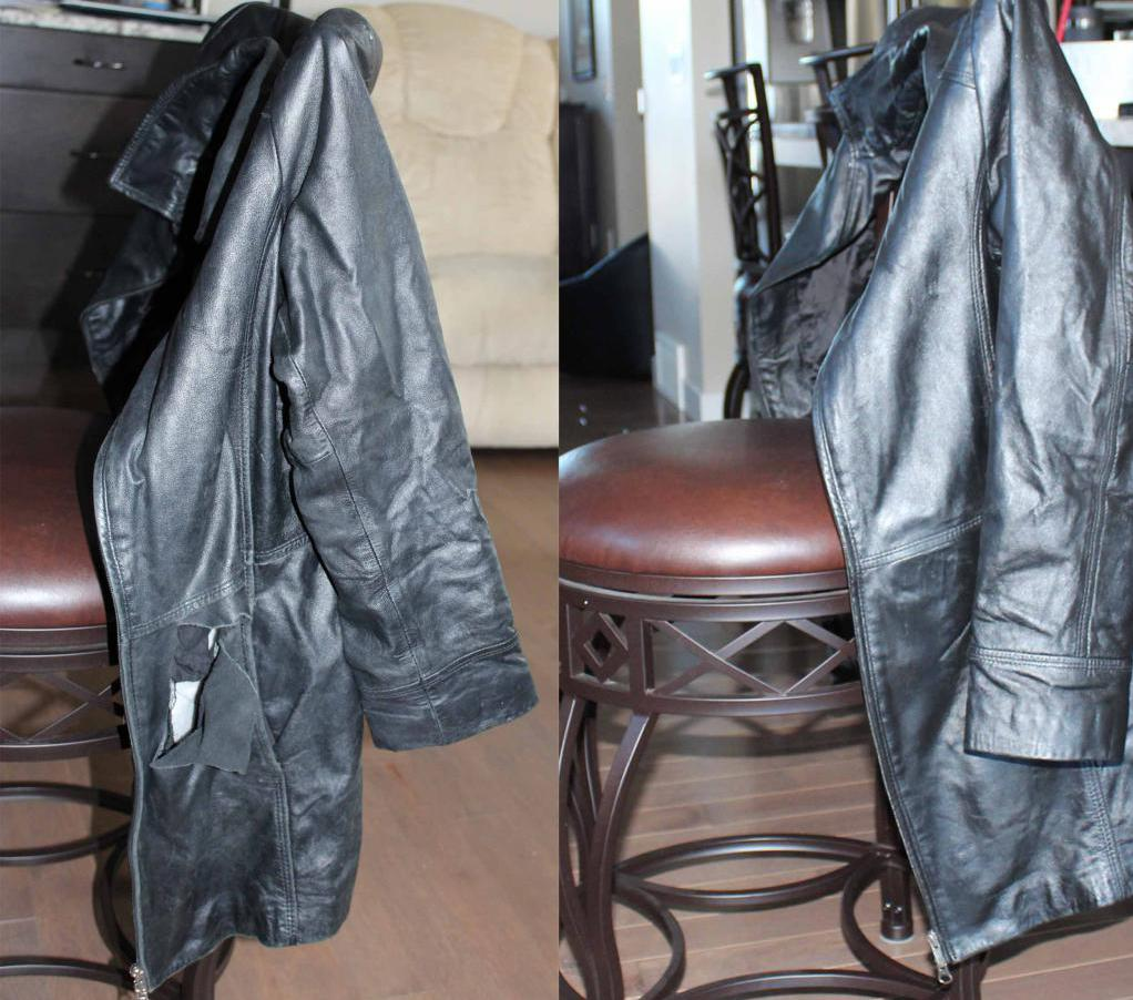 как восстановить блеск кожаной куртки