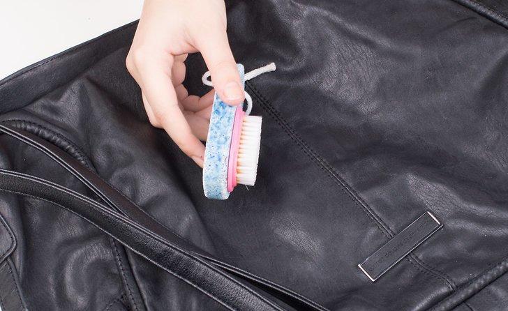 как восстановить кожаную куртку отпаривателем