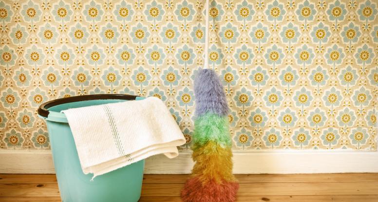Можно ли мыть флизелиновые обои: домашние средства для мытья, использование щадящей бытовой химии, особенности мойки, советы и рекомендации хозяек