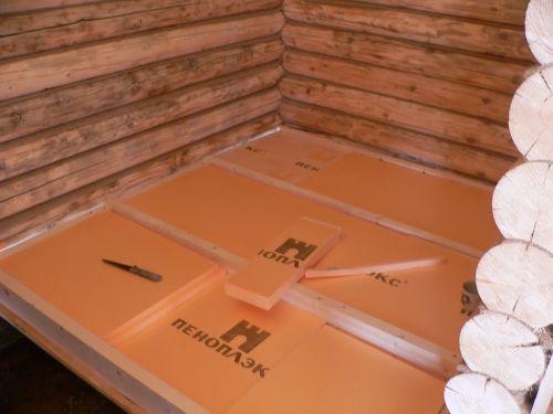 floor insulation from below