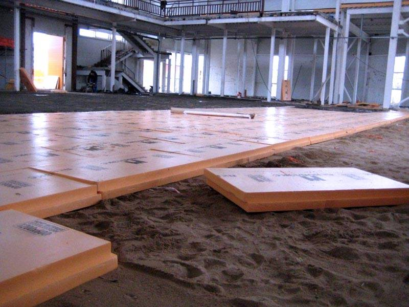 do-it-yourself floor insulation
