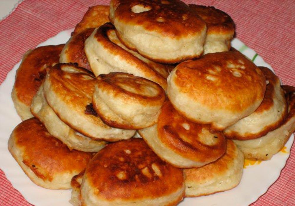 milk-free air pancakes