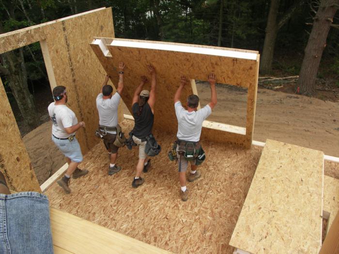 Строить дом своими руками ютуб