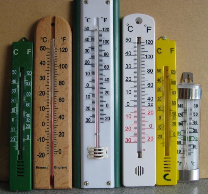 ميزان الحرارة للمنزل