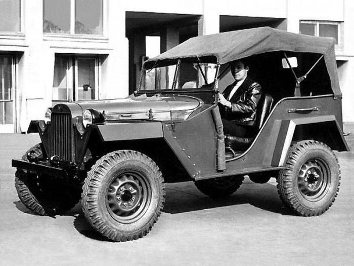 газ 64 военный полноприводный автомобиль