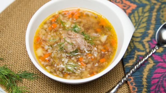 суп с гречкой рецепт на бульоне