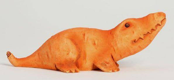 детские поделки из моркови