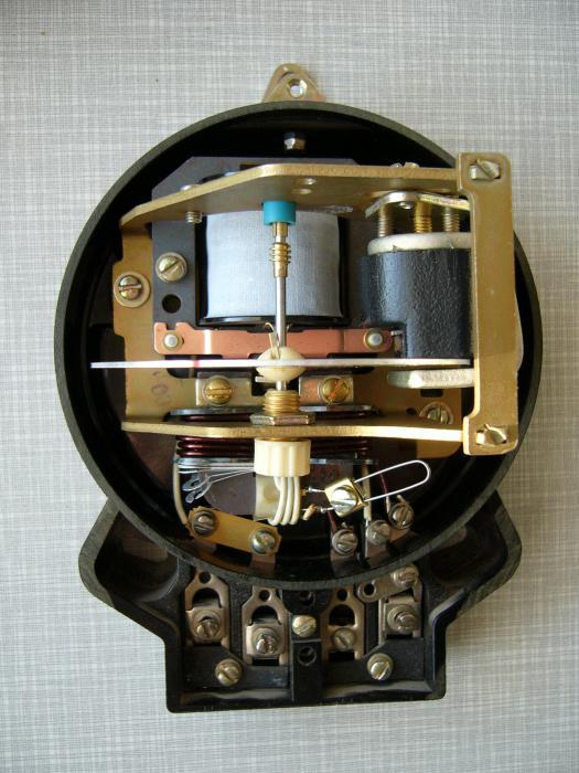 Устройство электросчетчика