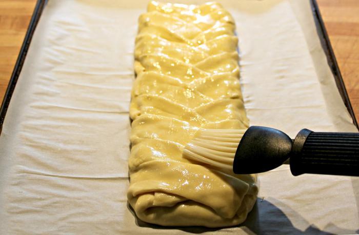 Чем надо смазывать пироги