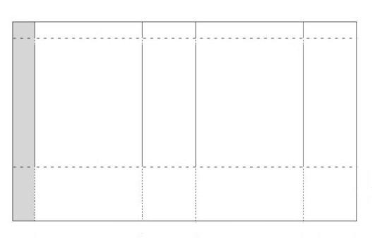 пакет бумажный схема