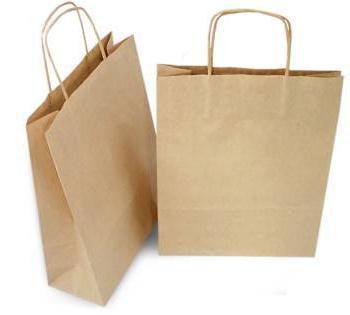 бумажные пакеты из крафт бумаги