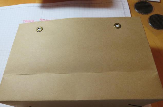 пакет бумажный своими руками