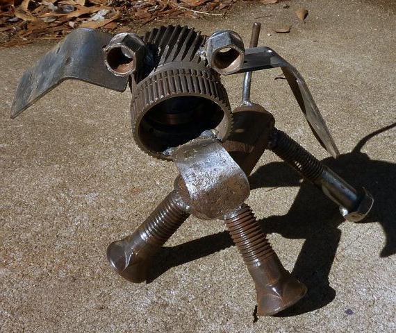 Изготовление из металла поделки