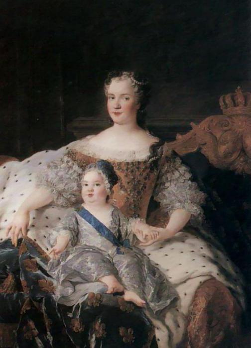 мария лещинская королева франции