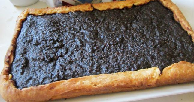 Открытый пирог с черемухой рецепт