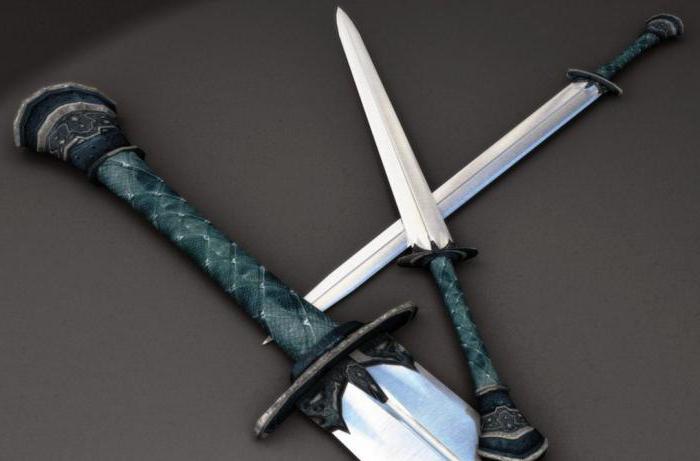 Древнее орудие: меч славянский