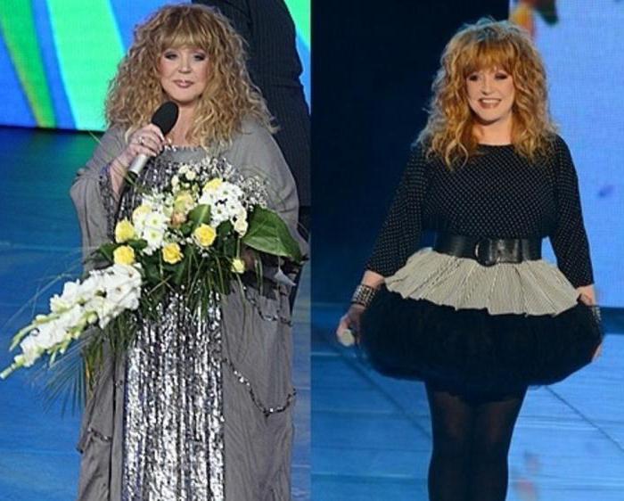 Алла пугачева. как похудела на 51 кг примадонна: диета, фото до и после