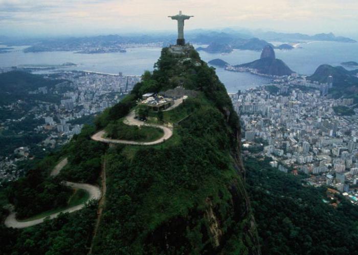 на каком материке расположена бразилия италия