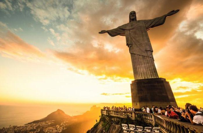 бразилия на каком материке расположена достопримечательности