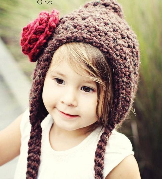 Детская шапочка крючком: схема