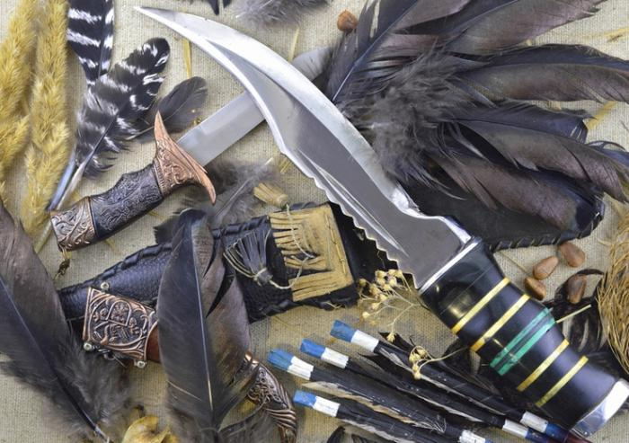 охотничьи ножи своими руками