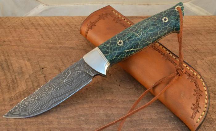 как сделать охотничий нож