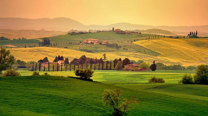 какая природа в италии