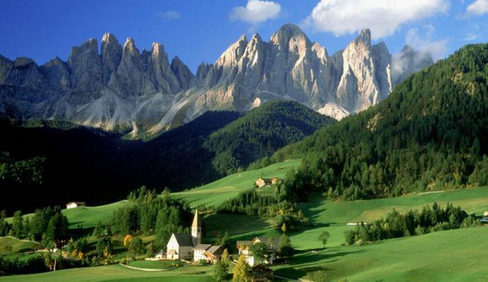 италии природа