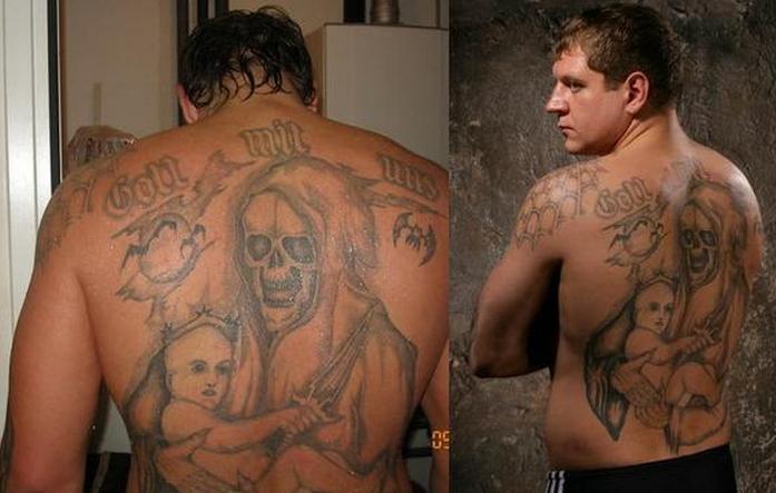 александр емельяненко татуировки значение