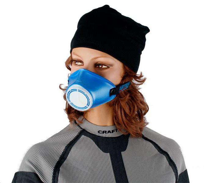 спортивная маска для бега