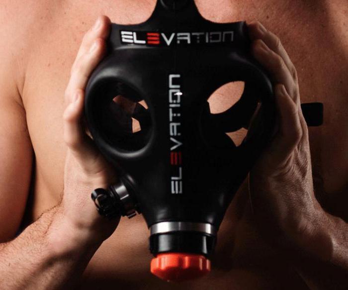 гипоксическая маска для тренировок