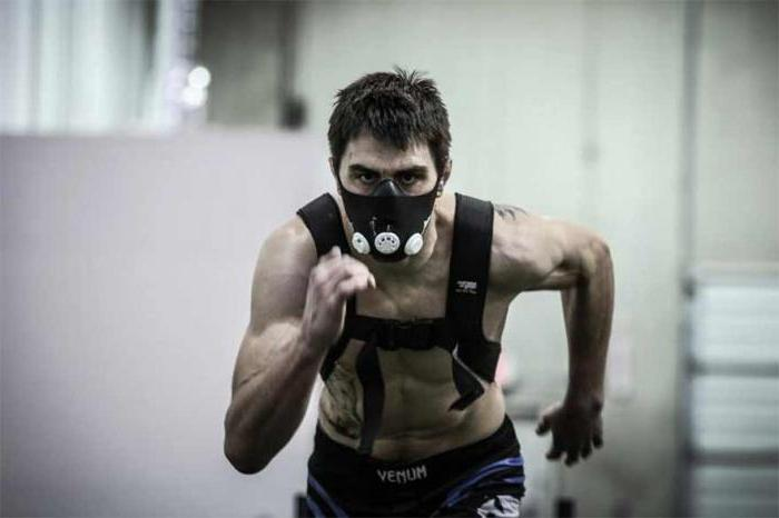 маска для тренировок ограничитель