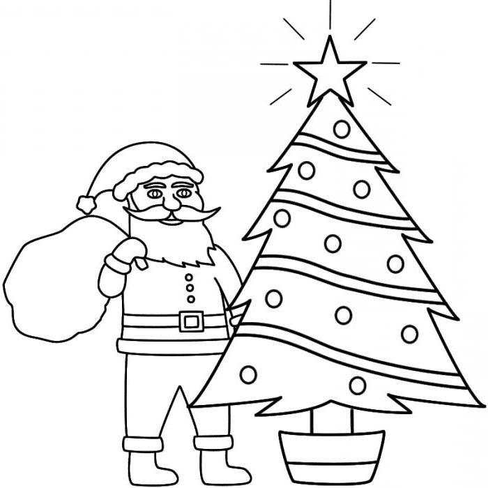 Как нарисовать открытку на новый год поэтапно карандашом