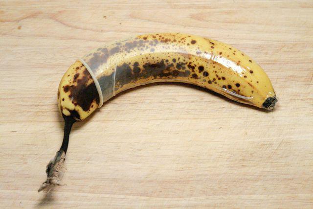 Банан вместо смазки