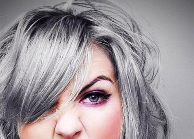 как закрасить седину на темных волосах