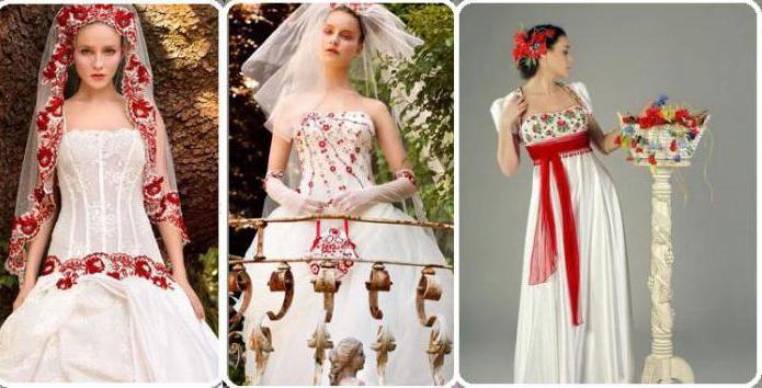 Свадебные платья в русском стиле: модели и фасоны русского свадебного наряда
