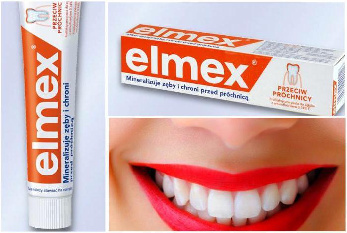 зубная паста элмекс