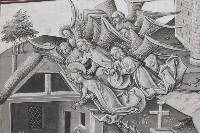 The grisaille technique is a kind of painting. Grisaille painting: description and features
