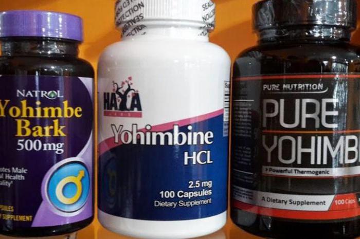 йохимбин для похудения
