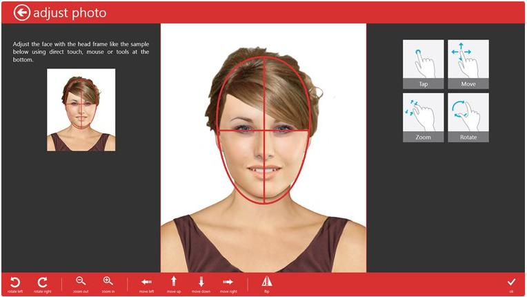 Пример обработки фото программой